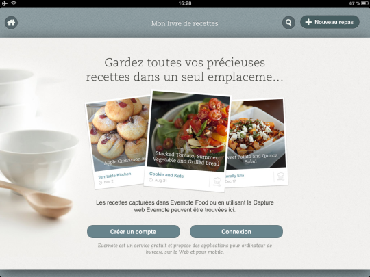 Evernote Food Mes Recettes