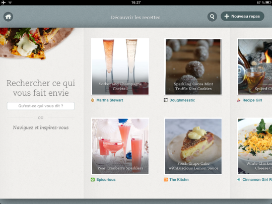 Evernote Food Recettes