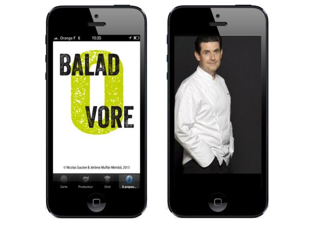Application Baladovore