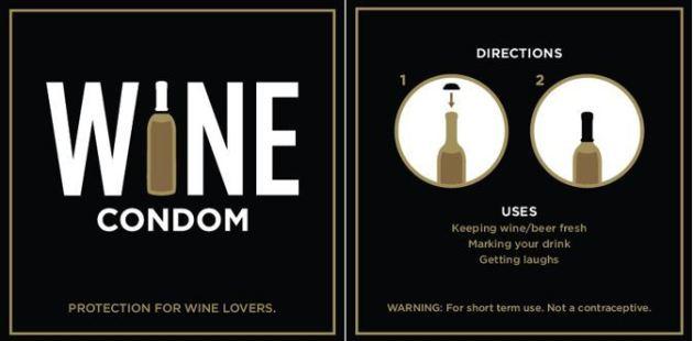 Wine condom 1