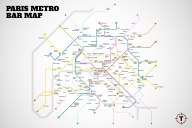 Plan metro paris Bars
